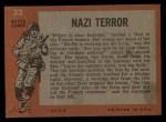 1965 Topps Battle #33   Nazi Terror  Back Thumbnail
