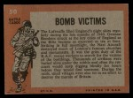 1965 Topps Battle #50   Bomb Victims  Back Thumbnail