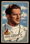 1952 Bowman Large #75  Joe Kuharich  Front Thumbnail