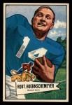 1952 Bowman Large #79  Bob Hoernschemeyer  Front Thumbnail