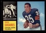 1962 Topps #16  Rick Casares  Front Thumbnail