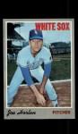1970 Topps #35  Joel Horlen  Front Thumbnail