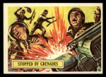 1965 Topps Battle #25   Stopped by Grenades  Front Thumbnail