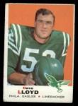 1969 Topps #220  Dave Lloyd  Front Thumbnail