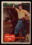 1956 Topps / Bubbles Inc Elvis Presley #14   Down on the Farm Front Thumbnail