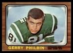 1966 Topps #98  Gerry Philbin  Front Thumbnail