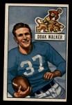 1951 Bowman #25  Doak Walker  Front Thumbnail