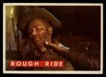 1956 Topps Davy Crockett Green Back #59   Rough Ride  Front Thumbnail