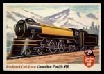 1955 Topps Rails & Sails #16   Enclosed Cab Locomotive Front Thumbnail