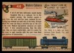 1955 Topps Rails & Sails #48   Bay-Windown Caboose Back Thumbnail