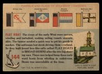 1955 Topps Rails & Sails #144   Flat Boat Back Thumbnail