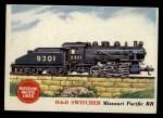 1955 Topps Rails & Sails #95   0-6-0 Switcher Front Thumbnail