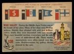1955 Topps Rails & Sails #131   War Galley Back Thumbnail