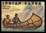 1955 Topps Rails & Sails #143   Indian Canoe Front Thumbnail
