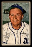 1952 Bowman #98  Jimmy Dykes  Front Thumbnail