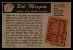 1955 Bowman #81  Bob Morgan  Back Thumbnail