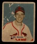 1949 Bowman #190  Jim Hearn  Front Thumbnail