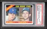 1966 Topps #288   -  Don Sutton / Bill Singer Dodgers Rookies Front Thumbnail