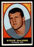 1967 Topps #128  Steve DeLong  Front Thumbnail