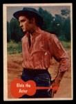 1956 Topps / Bubbles Inc Elvis Presley #30   Elvis the Actor Front Thumbnail