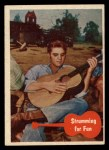 1956 Topps / Bubbles Inc Elvis Presley #37   Strumming for Fun Front Thumbnail