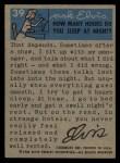 1956 Elvis Presley #39   Lights Camera Action! Back Thumbnail