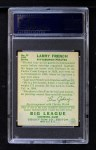 1934 Goudey #29  Larry French  Back Thumbnail