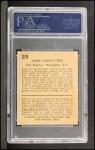 1932 R328 U.S. Caramel #23  Jimmie Foxx  Back Thumbnail