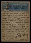 1956 Topps / Bubbles Inc Elvis Presley #37   Strumming for Fun Back Thumbnail