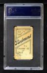 1909 T206 BAT Fred Clarke  Back Thumbnail