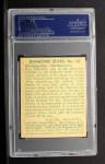 1935 Diamond Stars #10 A Leroy Mahaffey   Back Thumbnail