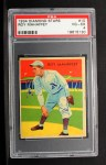 1935 Diamond Stars #10 A Leroy Mahaffey   Front Thumbnail
