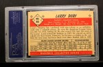 1953 Bowman #40  Larry Doby  Back Thumbnail