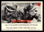 1965 Fleer Hogan's Heroes #63   Look at It this Way Klink Front Thumbnail