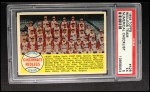 1958 Topps #428 NUM  Reds Team Checklist Front Thumbnail