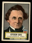 1952 Topps Look 'N See #14  Jefferson Davis  Front Thumbnail
