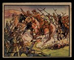1938 Gum Inc. Horrors of War #93   Crack Rebel Calvary Attacks Loyalists Front Thumbnail