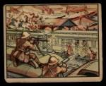 1938 Gum Inc. Horrors of War #16   Japanese Attack Train at Wusih Front Thumbnail