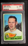 1965 Topps #284  Nick Willhite  Front Thumbnail