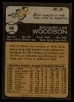 1973 Topps #98  Dick Woodson  Back Thumbnail