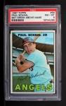 1967 Topps #58 GRN Paul Schaal  Front Thumbnail