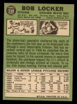 1967 Topps #338  Bob Locker  Back Thumbnail