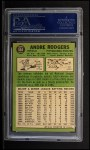 1967 Topps #554  Andre Rodgers  Back Thumbnail