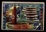 1951 Bowman Jets Rockets and Spacemen #28   Martian City Front Thumbnail
