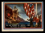 1953 Topps Fighting Marines #77   To The Shores Of Tripoli Front Thumbnail