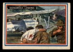1953 Topps Fighting Marines #52   Dangerous Landing Front Thumbnail