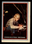 1953 Topps Fighting Marines #15   Communications Personnel Front Thumbnail