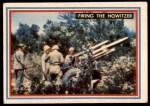 1953 Topps Fighting Marines #1   Firing The Howitzer Front Thumbnail
