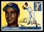 1955 Topps #82  Chuck Harmon  Front Thumbnail