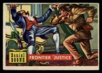 1956 Topps Round Up #50   -  Daniel Boone Frontier Justice Front Thumbnail
